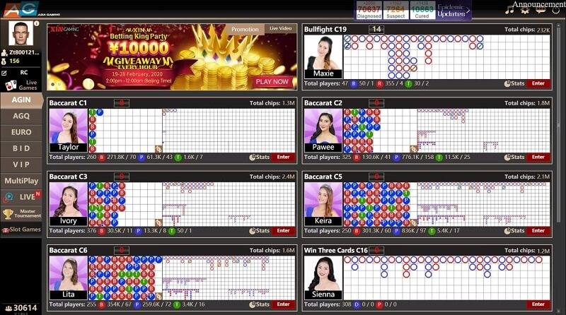 Asia gaming online casino