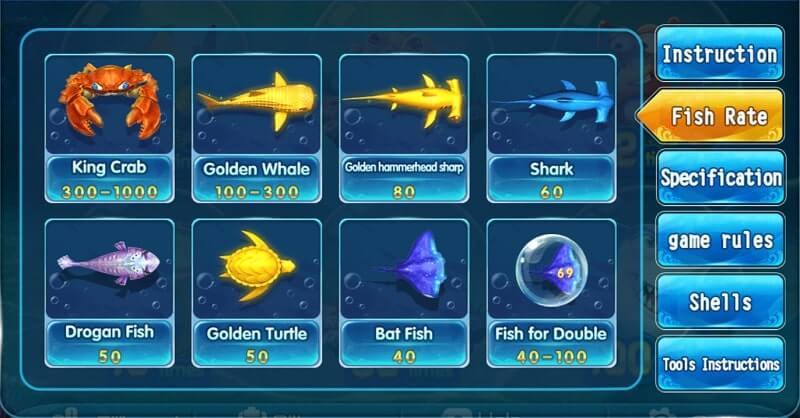 GGfishing fish rate
