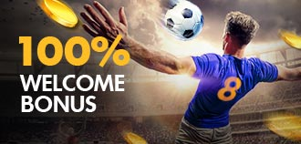 SPORTS 100% WELCOME BONUS