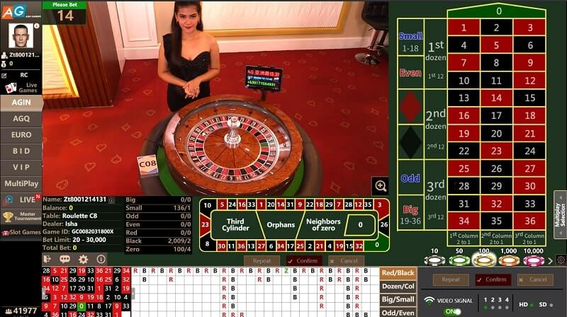 asia gaming roulette