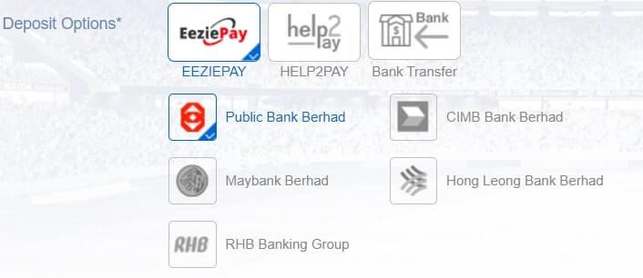 bk8 deposit options