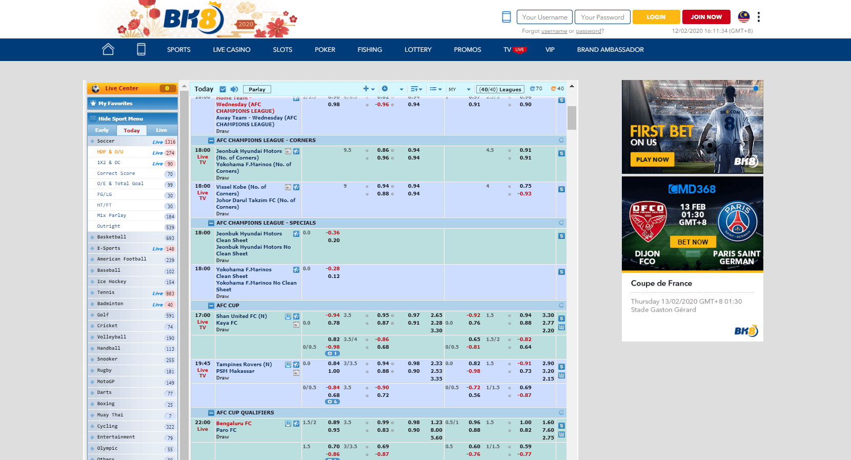 cmd sportsbook