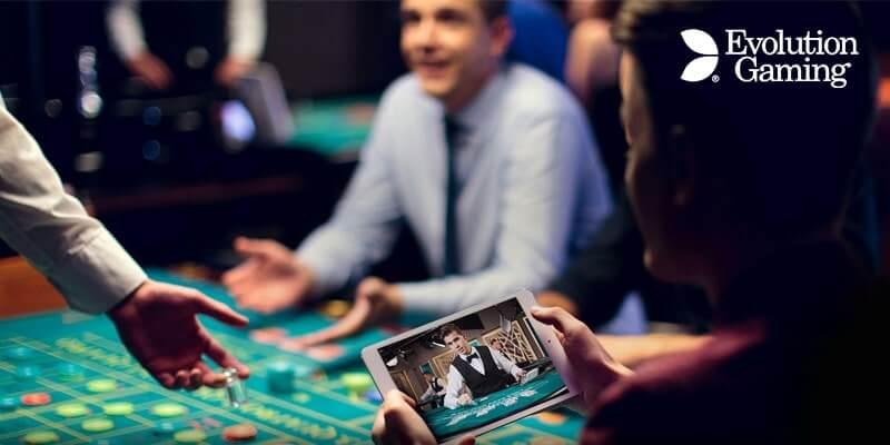 evolution gaming mobile
