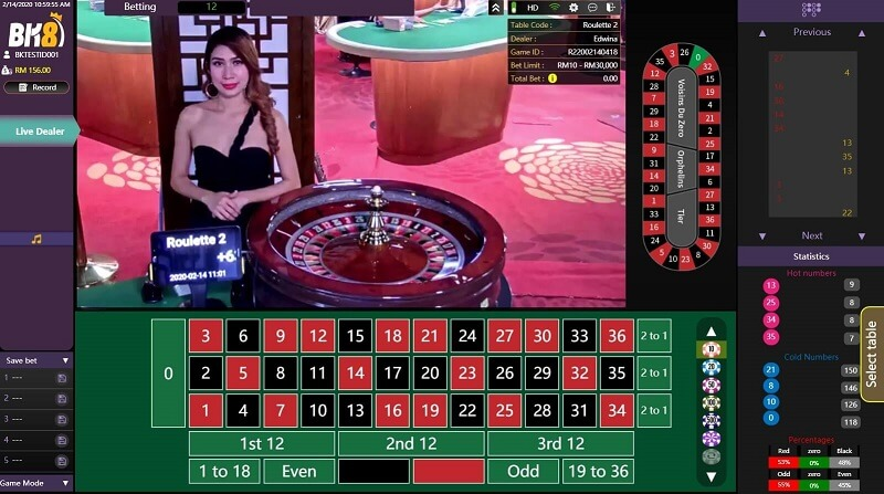 gold deluxe roulette