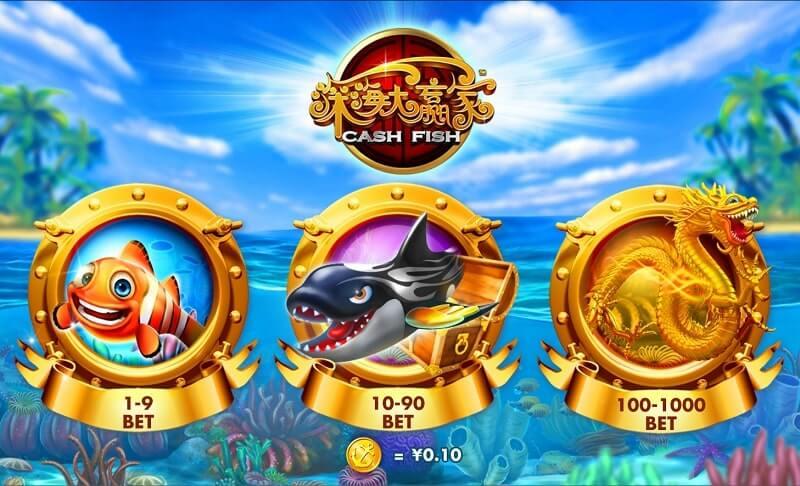 cash fish levels