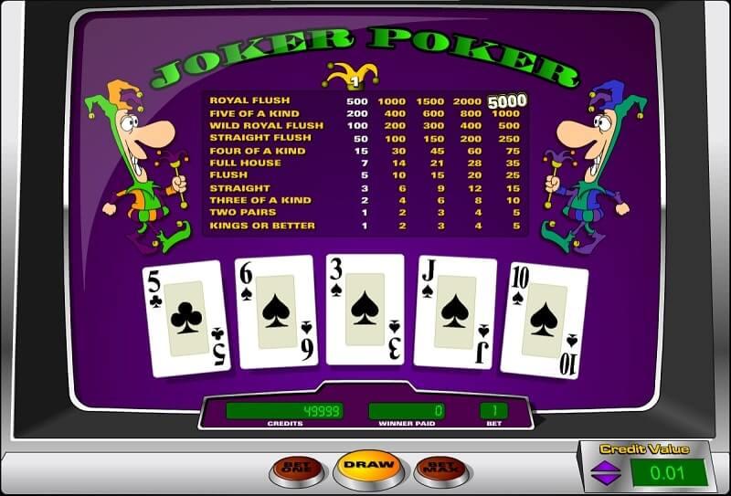 toptrend joker poker