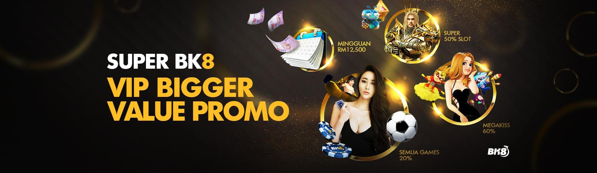 Bonus VIP Kasino Dalam Talian Malaysia