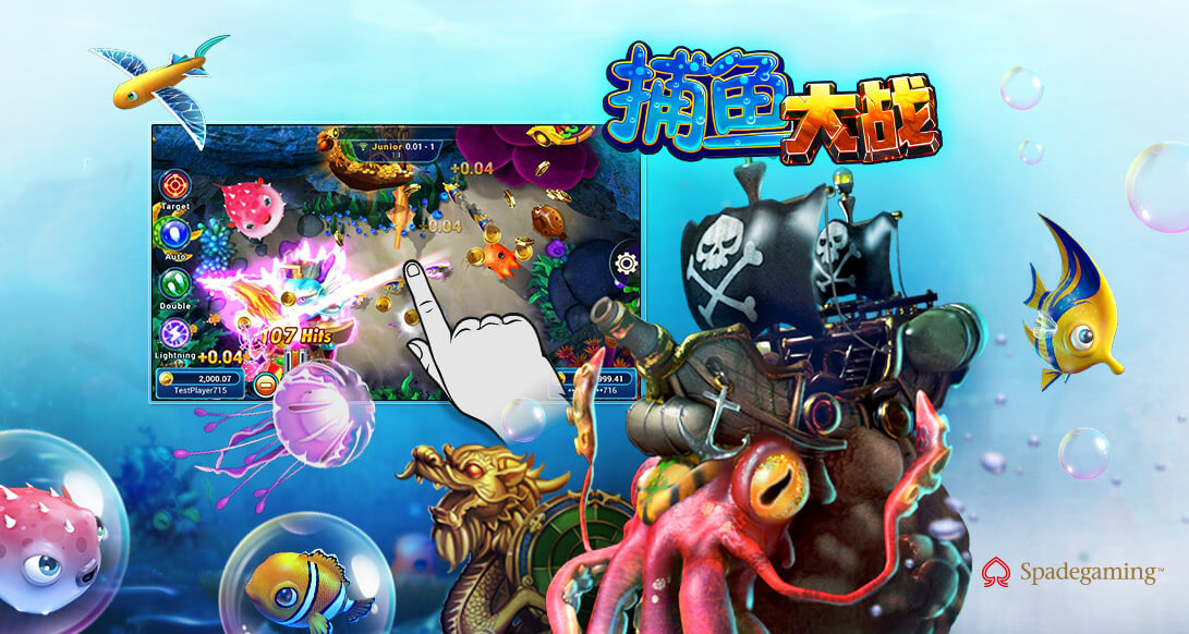 SG Fishing War Game