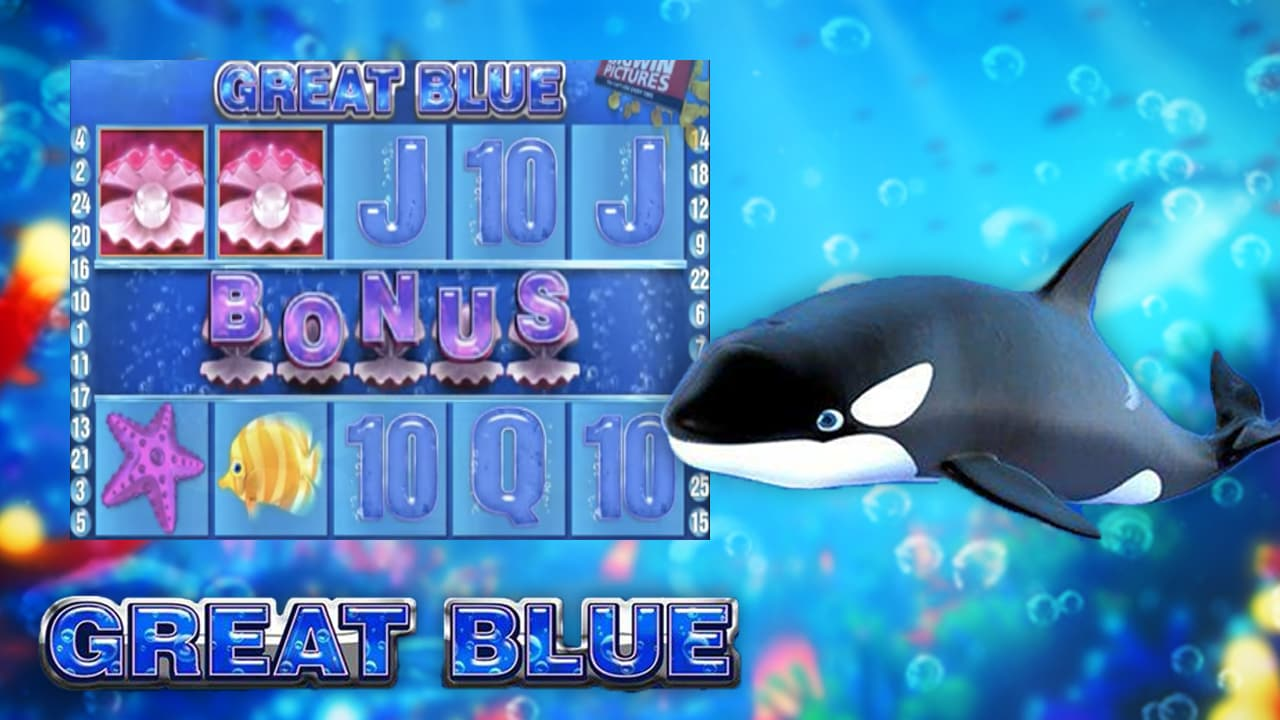 Casino Free Slot Games Great Blue