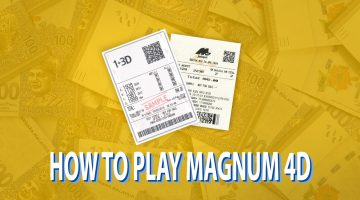 HOW TO PLAY MAGNUM 4D