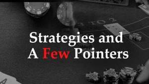 Strategies and a few pointer