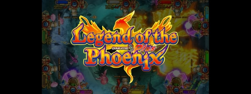Ocean King 3 Plus - Legend of the Phoenix