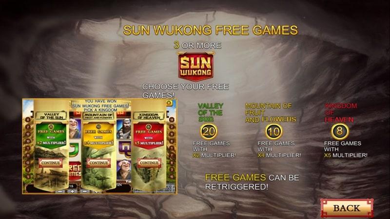 sun wukong slot free games