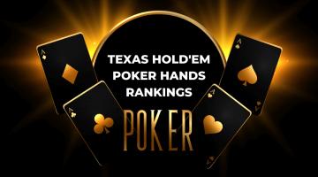 Texas Hold'em Poker Hands Rankings