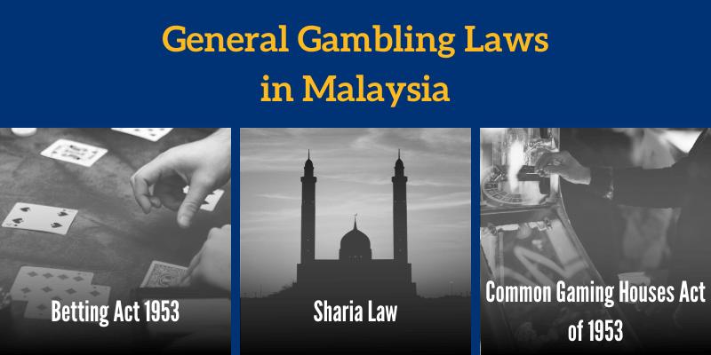 General Gambling Laws in Malaysia