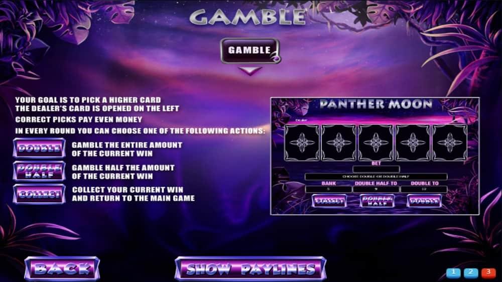 Panther Moon - Gamble