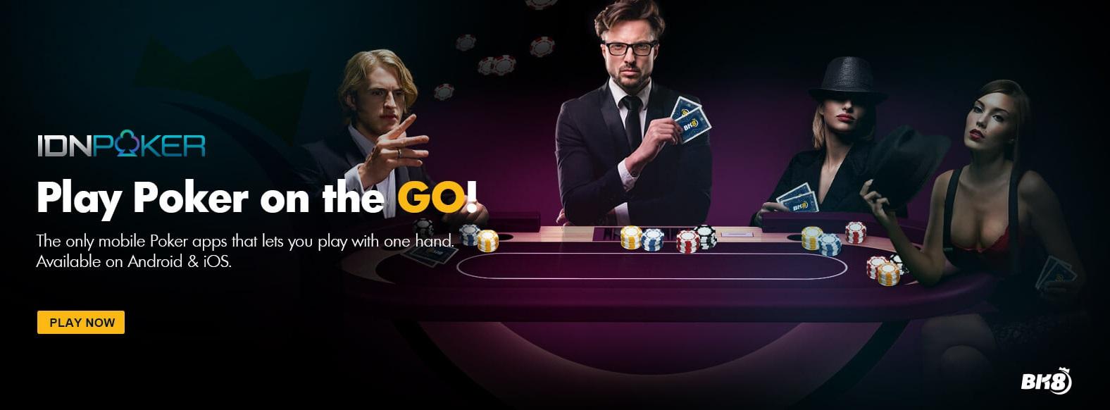 Play Online Poker Now BK8