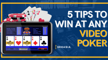 5 Tips to Win at Any Video Poker