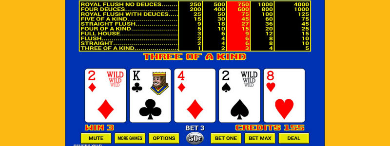 Is There a Strategy for Video Poker