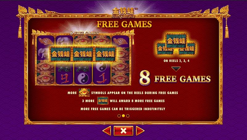 Jin Qian Wa - Free Games