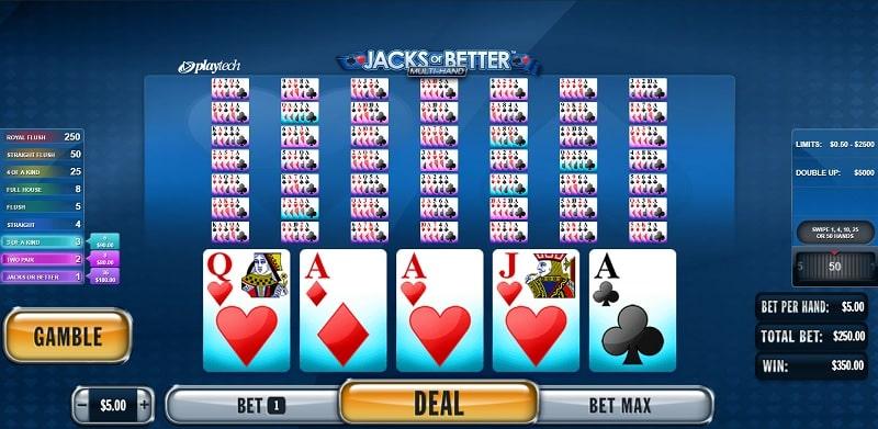 Playtech - Jacks or Better Video Poker