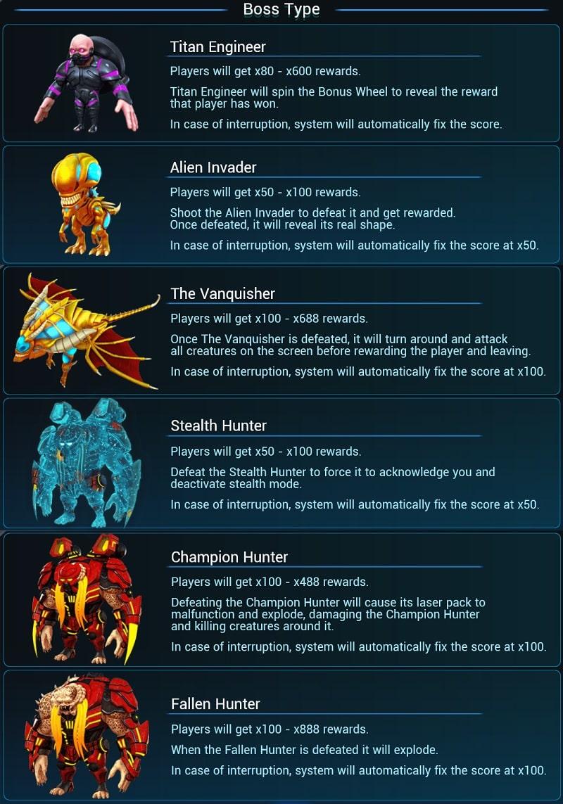 Alien Hunter - Boss