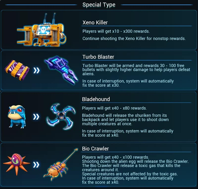 Alien Hunter - Special Type