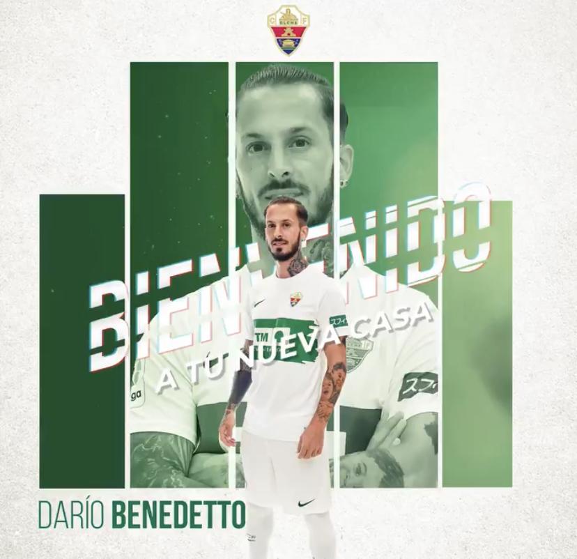 Dario Benedetto Elche FC