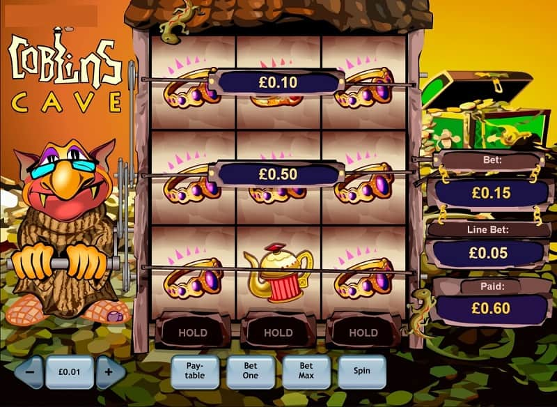 Goblins Cave Slot - How To Play
