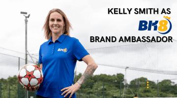 Kelly Smith Becomes BK8 Brand Ambassador