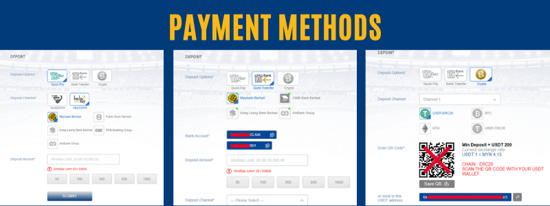 Option for Payment Methods